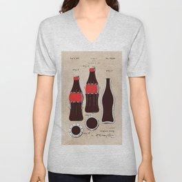 patent Bottle Unisex V-Neck