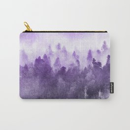 Ultra Violet Adventure Forest Carry-All Pouch