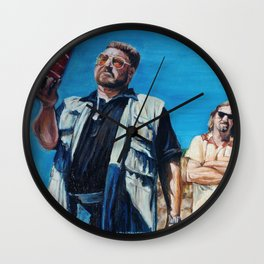 The Big Lebowski - Donny's Ashes Wall Clock