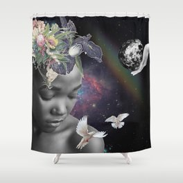Earth is His Shower Curtain