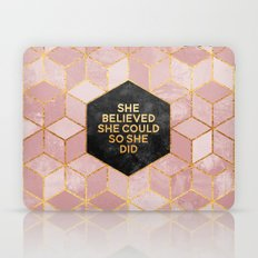 She believed she could so she did Laptop & iPad Skin