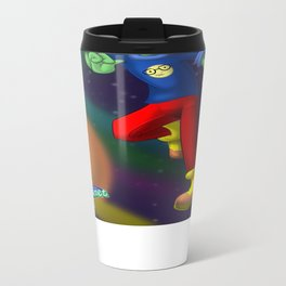 Nerde World Metal Travel Mug
