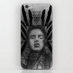 FOLK ROSES TRIANGLE iPhone & iPod Skin