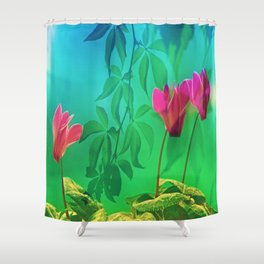 Happy shiner  Shower Curtain