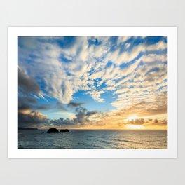 Cape Meares Sunset Art Print