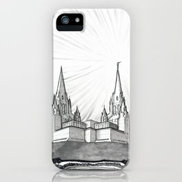 San Diego California Temple iPhone Case
