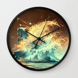 Mana tide Wall Clock