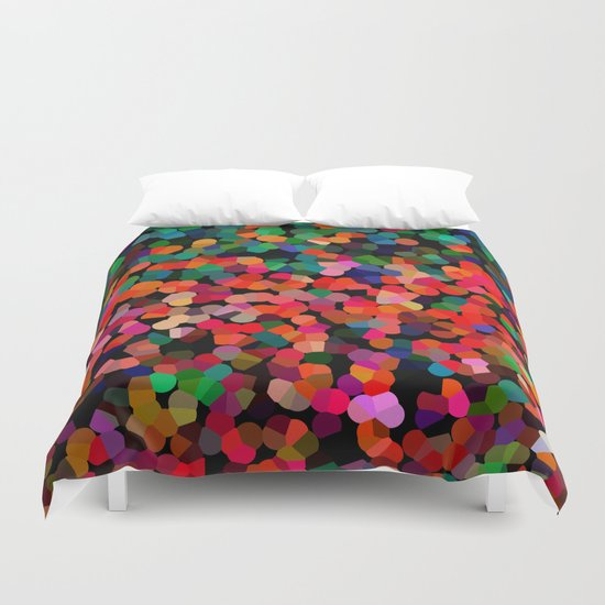 Abstract colors Duvet Cover