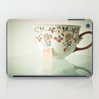 tea iPad Cases featuring Tea by Olivia Joy StClaire
