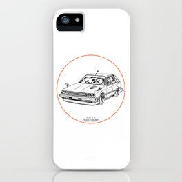 Crazy Car Art 0213 iPhone Case