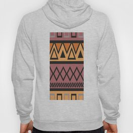 African Tribal Pattern No. 68 Hoody