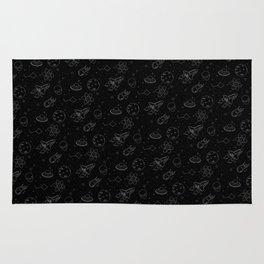 ― space pattern Rug