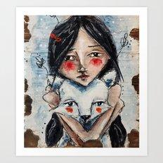 Aspen and Quilo Art Print