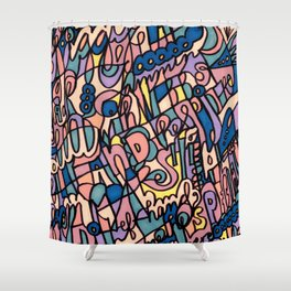 Jammin' Good (Tropical Breeze) Shower Curtain