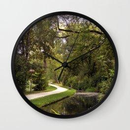 DE - Baden-Wurttemberg : Gardens of Laupheim Wall Clock