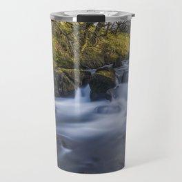 Nant Ffrancon Pass River Travel Mug