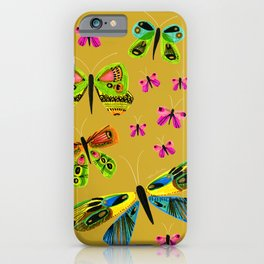 Jewel Box Butterflies iPhone Case