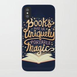 Books are magic iPhone Case