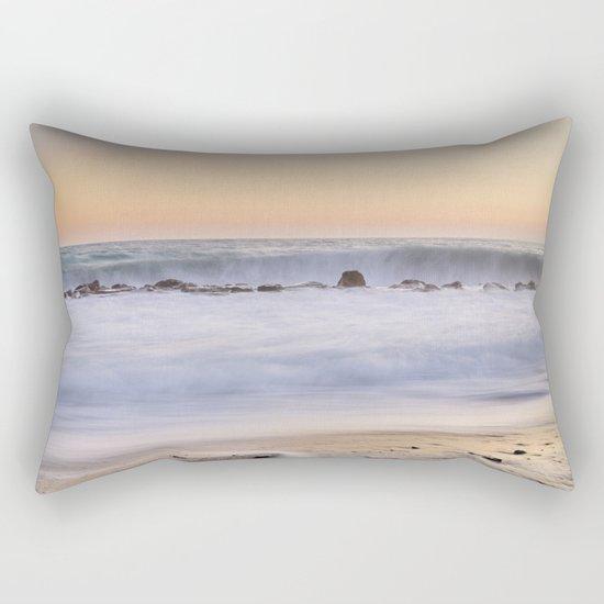 """""""The big wave..."""" Rectangular Pillow"""
