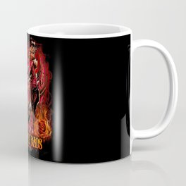 Heavenly Kaos Sugar Skull Dragon Coffee Mug