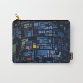 Stained glass water tower Carry-All Pouch
