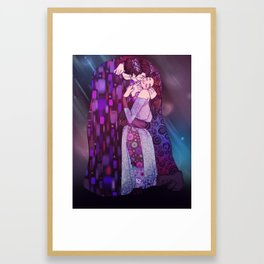 The Light and the Dark Framed Art Print