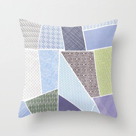 envelope series - 15 envelopes Throw Pillow