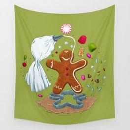 Gingerbread Joy Wall Tapestry