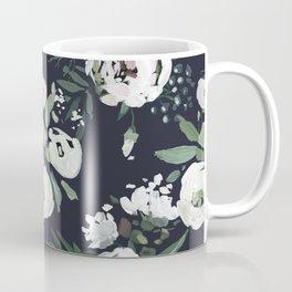 Rustic Floral Print Coffee Mug