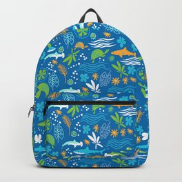 Sharks, Sting Rays and Turtles Backpack