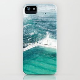 Bondi Icebergs Club iPhone Case