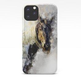 Glitter Horse iPhone Case