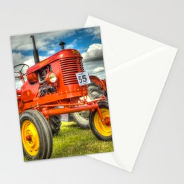 Red Tractor Stationery Cards