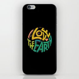 Earthen Words to Live by iPhone Skin