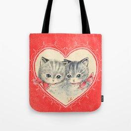 VALENTINE KITTIES Tote Bag