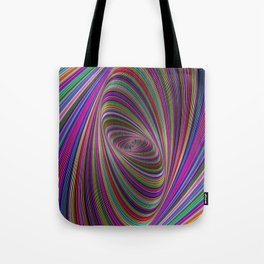 Psychedelic colors Tote Bag