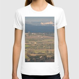 Italian countryside landscape T-shirt