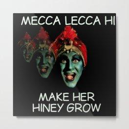 Make Her Hiney Grow Metal Print