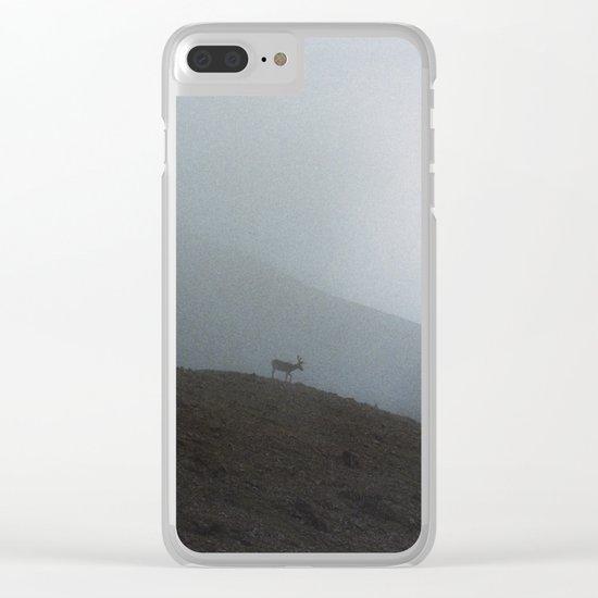 Ridge Reindeer Clear iPhone Case
