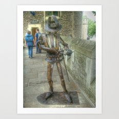 The Tin Man Art Print
