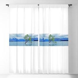 AllenbyArt That Wanaka Tree Landscape Scenery of Lough, Photography,  Blackout Curtain