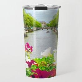 Summertime in Amsterdam Travel Mug