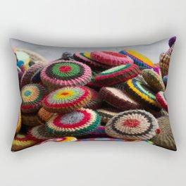 Chefchaouen Details Rectangular Pillow