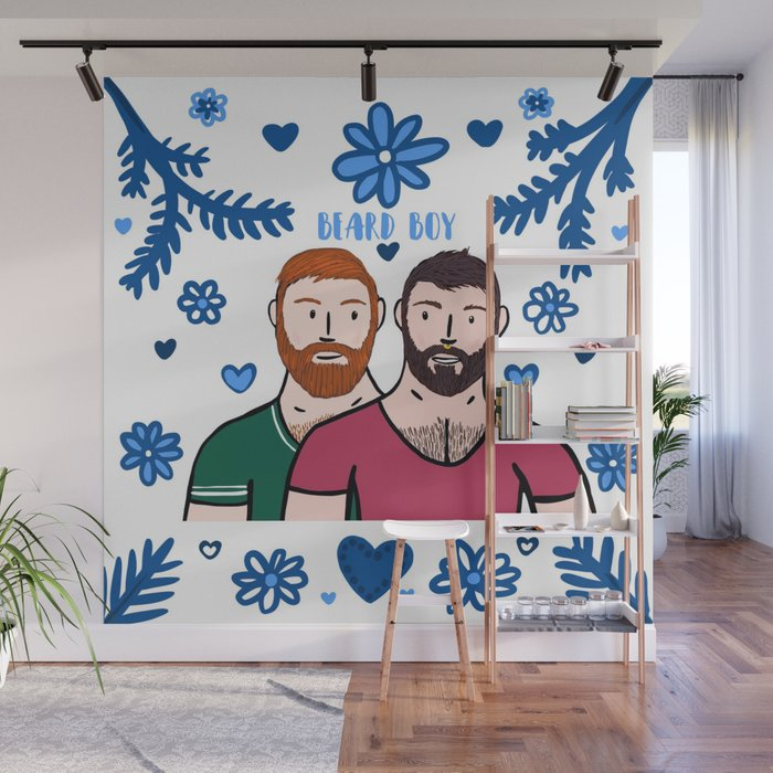 Beard Boy Of Men Karl Daan Wall Mural