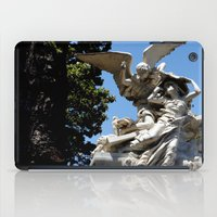 angels iPad Cases featuring Angels by Mallory McMahon