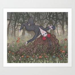Nine Wild Lovers Art Print