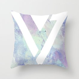 Seventeen Logo Throw Pillow