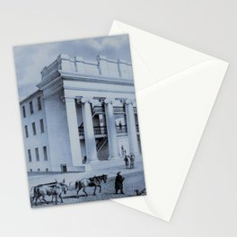 Providence Arcade Original Rendering - Providence, Rhode Island Stationery Cards
