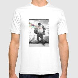 Graffiti Superpowers - Black & White T-shirt