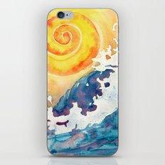 Ocean Wave iPhone & iPod Skin